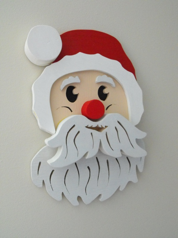 Santa Downloadable Scrollsaw Woodworking Plan