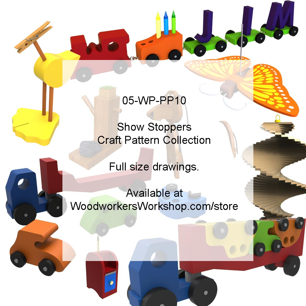 05-WP-PP10 - Show Stoppers Woodworking Pattern Collection