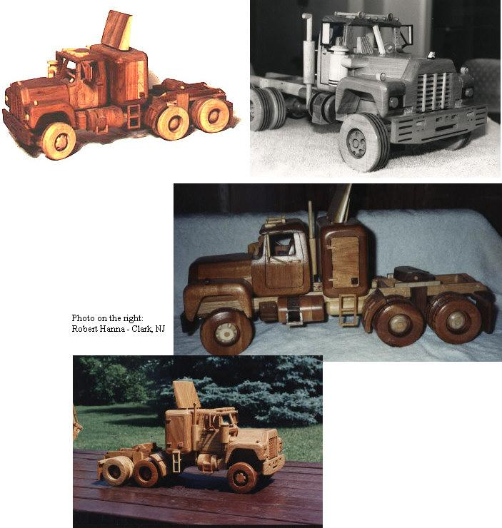 Construction Equipment - Big Rig Woodworking Plan