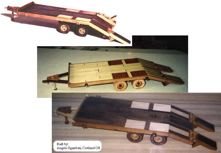 08-19 - Construction Equipment - Flat Bed Trailer Woodworking Plan