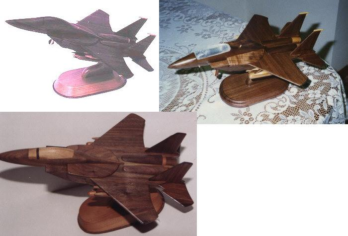 F-15 Fighter Jet Woodworking Plan