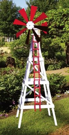Farm Windmill Woodworking Plan. - WoodworkersWorkshop