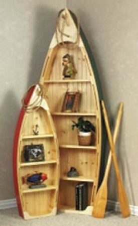 Boat Shelf Small Full Size Woodworking Plan.
