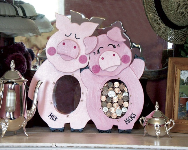 His and Hers Piggy Bank Woodworking Plan woodworking plan