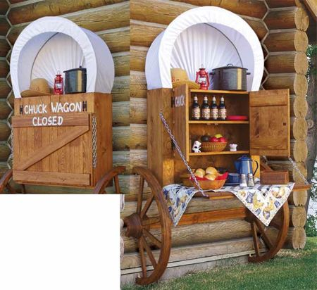 19-W2884 - Chuck Wagon Woodworking Plan ...