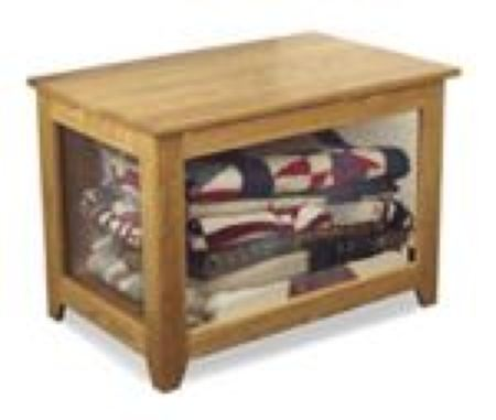 19-W2948 - Quilt Display Chest Woodworking Plan.