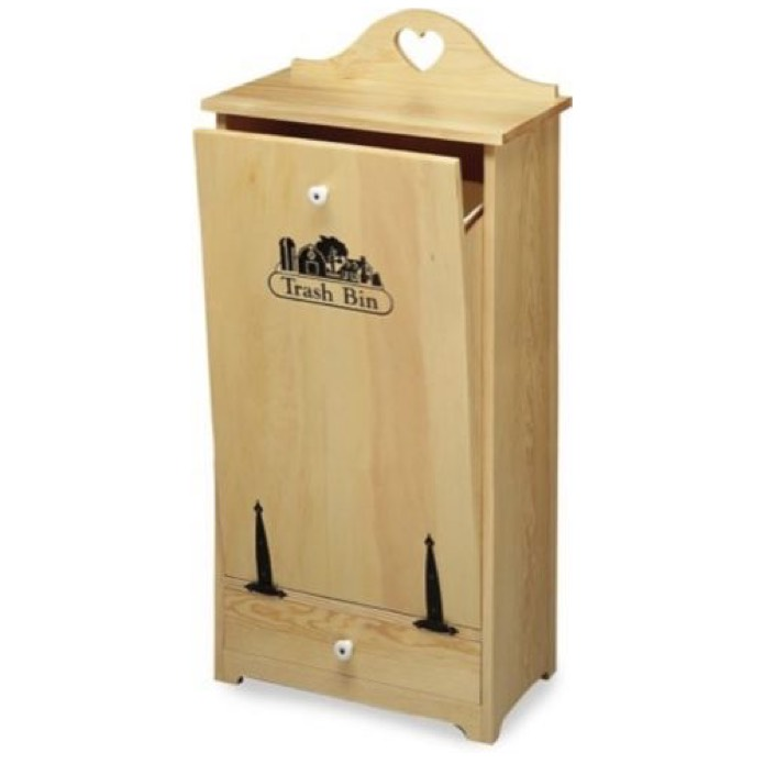 Trash Bin Woodworking Plan woodworking plan