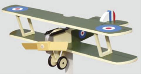 Sopwith Camel 2 Blade Single Engine Whirligig Woodworking Plan woodworking plan
