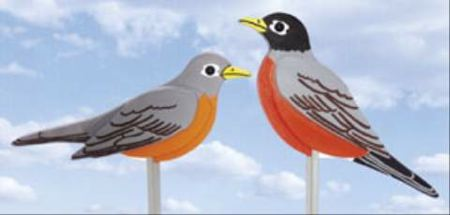 American Robins Woodworking Plan