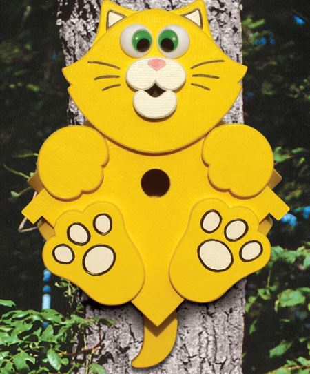 Kitty Corner Birdhouse Woodworking Plan woodworking plan