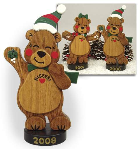 19-W3286 - Holiday Bear Woodworking Plan