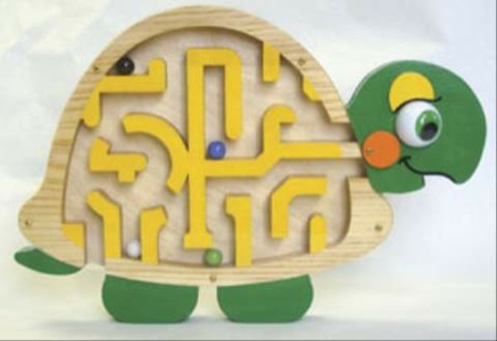 19-W3295 - Turtle Maze Woodworking Plan