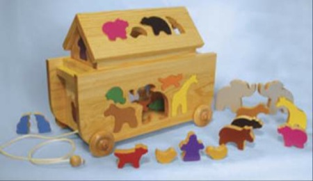 Puzzle Ark Woodworking Plan