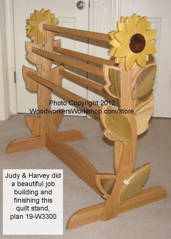 Quilt Rack Woodworking Plan. - WoodworkersWorkshop