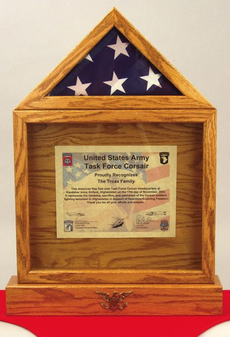 American Flag Display Box Woodworking Plan