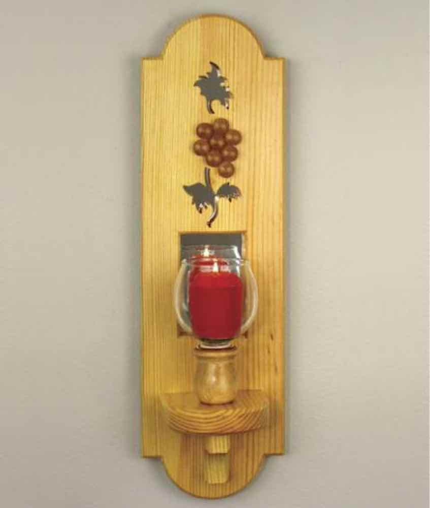 Wall Sconce Woodworking Plan.