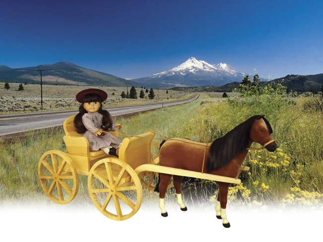 19-W3457 - Doll Carriage Woodworking Plan.