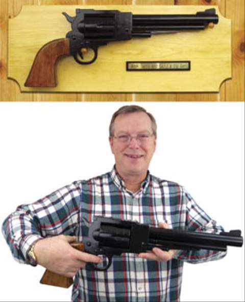 19-W3497 - Big Pistol Woodworking Plan.