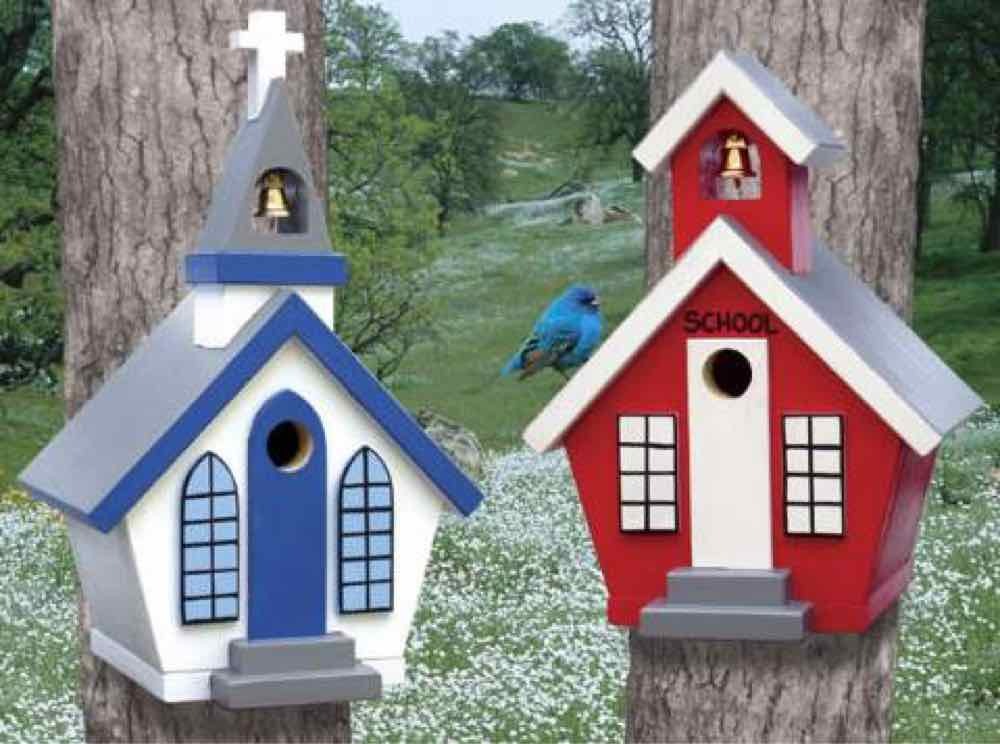 Country Birdhouses Woodworking Plan.