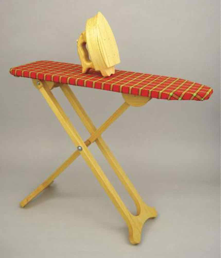 Kiddy Ironing Board and Iron Woodworking Plan.
