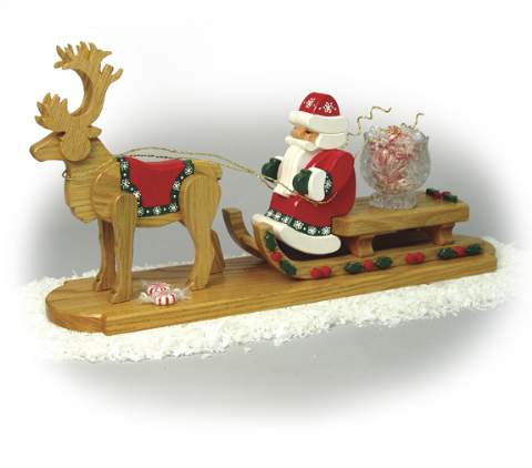 Santa & Sled Woodworking Plan.
