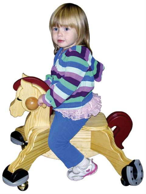 Pony Scooter Woodworking Plan.
