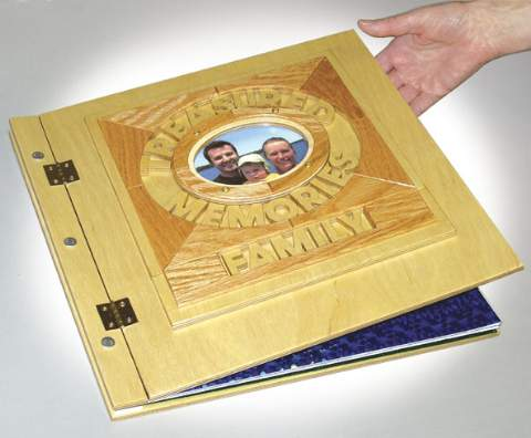 Scrapbook Woodworking Plan.