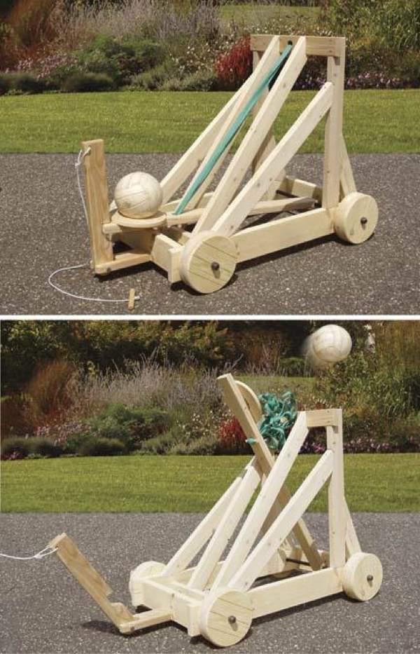 19 W3629 Catapult Woodworking Plan Woodworkersworkshop Online Store