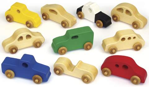 Toy Tot Cars Woodworking Plan.