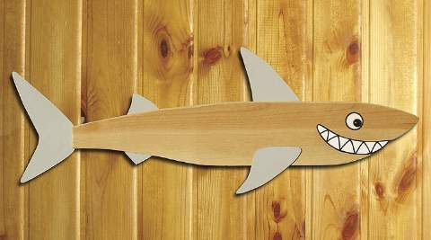 Whimsical Shark Woodworking Plan