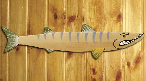 Whimsical Barracuda Woodworking Plan