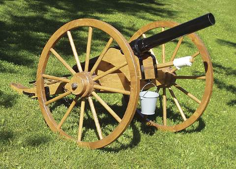 Civil War Cannon Woodworking Plan.