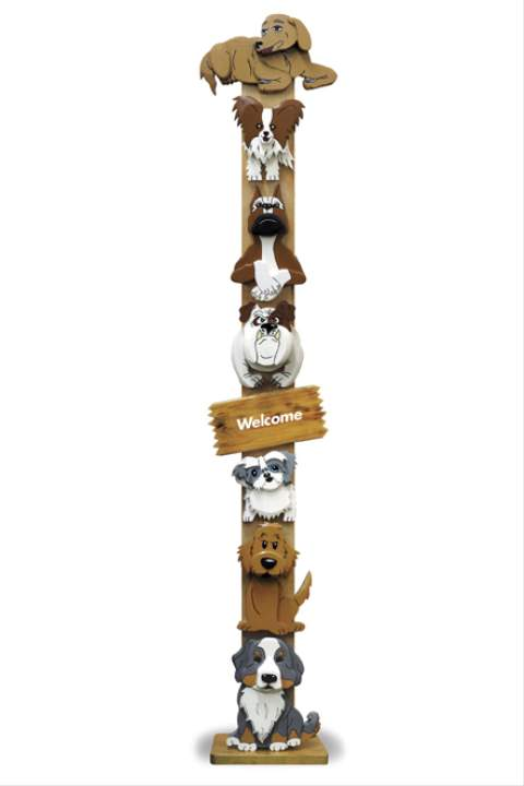 Dogwood Tree Totem Pole Woodworking Plan