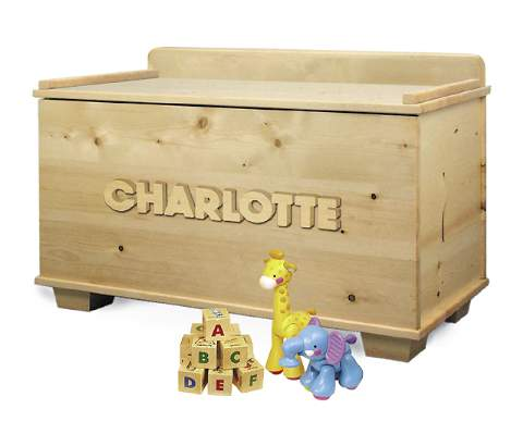 Namesake Toy Chest Woodworking Plan