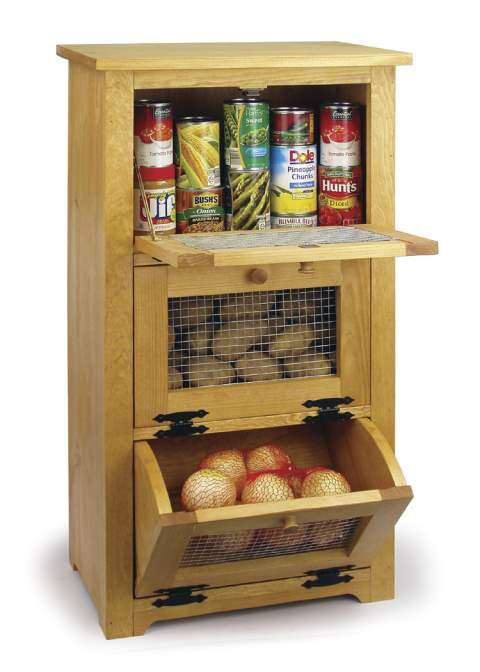 Storage Bin Cabinet Woodworking Plan woodworking plan