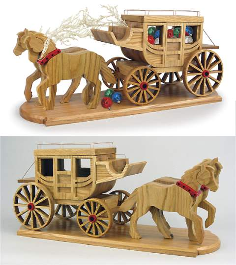 19-W3780 - Stagecoach Woodworking Plan