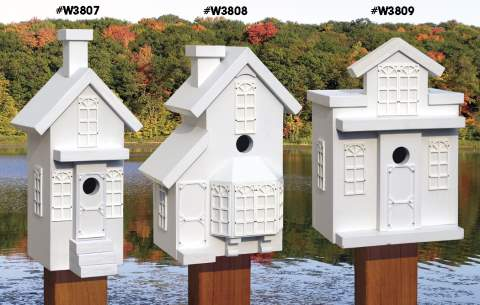 Boomtown Neighbourhood Birdhouse Woodworking Plans