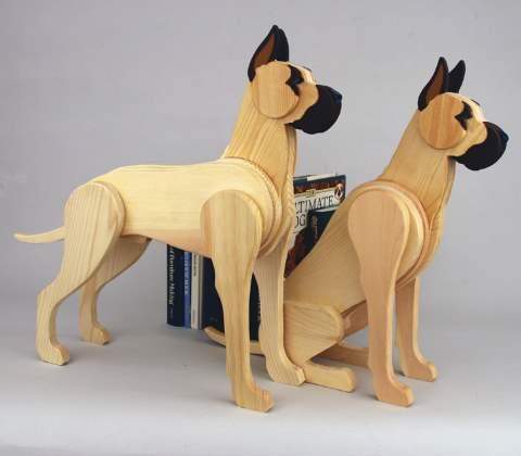 Small Great Dane Dog Woodworking Plans