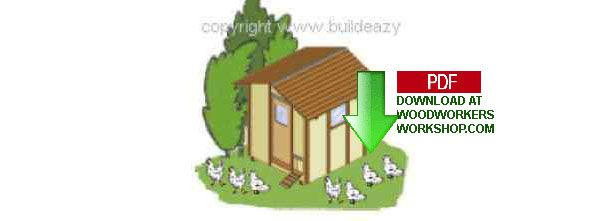 24-003 - How to build a Chicken Coop Woodworking Plan