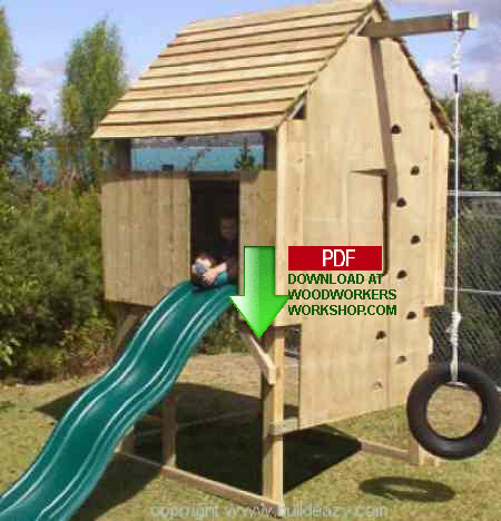 24-004 - Kids Play Fort Construction Plan