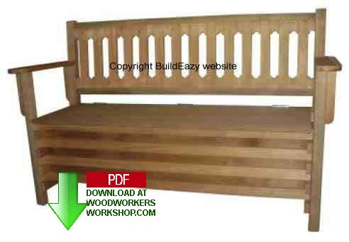 How to make a Boot Bench Woodworking Plan