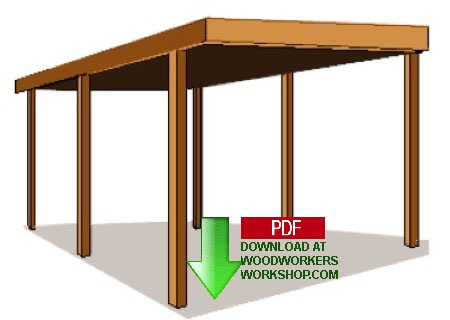 Carport Building Plan