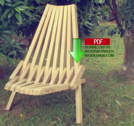 Kentucky Stick Chair Woodworking Plan - WoodworkersWorkshop