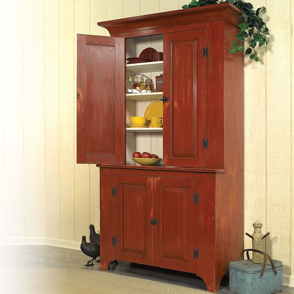 StepBack Cupboard Woodworking Plan