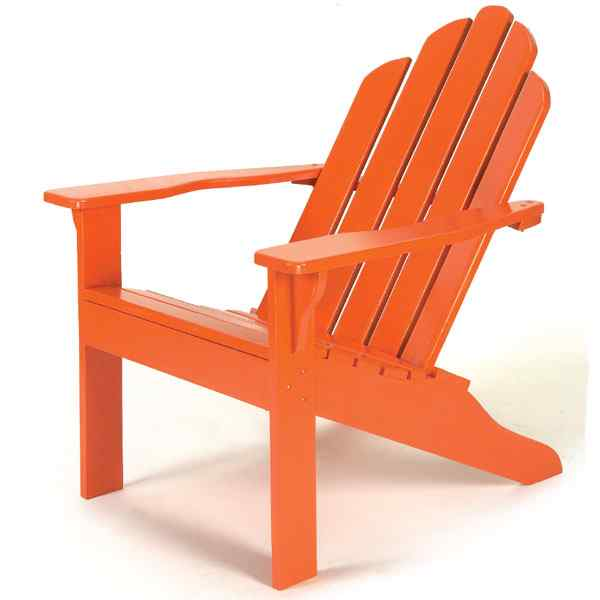 Classic Adirondack Chair Woodworking Plan