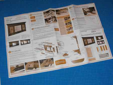 Hall Mirror and Coat Rack Combo Woodworking Plan No18