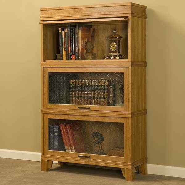Stacking Barristers Bookcase Woodworking Plan No17