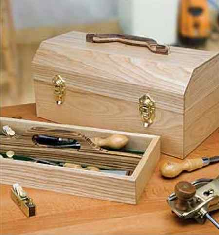 Craftsmans Portable Toolbox Woodworking Plan No5