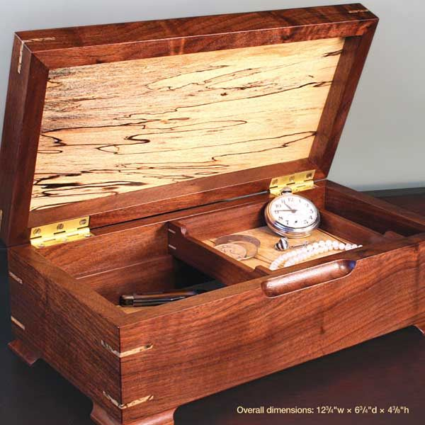 28 149680 gem of a jewelry box woodworking plan no19 for Wood plans online