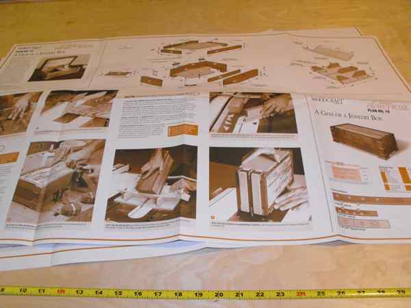 28-149680 - Gem of a Jewelry Box Woodworking Plan No19